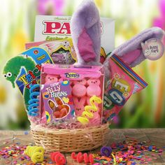 Bunny Love   Easter Gift Basket.  Price: $37.95