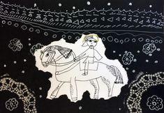 Svatý Martin na bílém koni. Práce mladších školáků našeho výtvarného studia. Studios, Darth Vader, Fictional Characters, Fantasy Characters