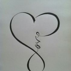 Cute! - possible tattoo for behind the ear?