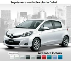 toyota yaris trd uae all new camry interior 10 best 2013 model images modeling models available color in dubai abu dhabi