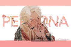 """말리지마요 @malizimayo on Twitter: """"웃고 있는 나 가끔은 울고 있는 나  지금도 매번 매순간 살아 숨쉬는 PERSONA    #MAP_OF_THE_SOUL_PERSONA #RM @BTS_twt… """" Vhope Fanart, Fanart Bts, Anime Angel, Bts Memes, Namjoon, Rapmon, Bts Anime, Animé Fan Art, Dibujos Cute"""