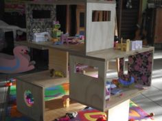 The final product of Macushla's dollhouse