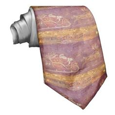 Music Santa Christmas decorations Neckties