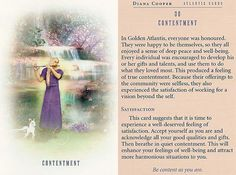 Today's Atlantis Card – Diana Cooper Spiritual Health, Spiritual Guidance, Diana Cooper, Star Children, Angel Cards, Angels In Heaven, Oracle Cards, Past Life, Card Reading