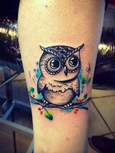 amazing owl tattoo #ink #YouQueen #girly #tattoos