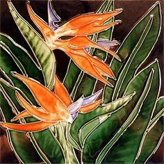 Bird of Paradise Ceramic Wall Art Tile 4x4 by CCWT. $14.95. Back corking can be removed for wall installation. Use in a backsplash. Hang on the wall with the attached hook. Raised Relief Wall Art. Vibrant colors that will never fade. Beautiful High Gloss Raised-Relief, Hand-Painted Tile. Each Tile has a cork back and hanger. Great as a coaster or wall hanging. These tiles look great in a kitchen, bath, or even a child's room. Great Gift Item!