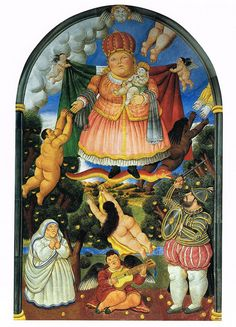 Fernando Botero -Heaven  #botero #paintings #art