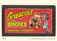 Greaser's Pieces