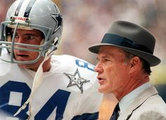 Tom Landry has been the most notable Cowboy coach and is considered one of the greatest coaches of all time. Description from allknowingfootballguy.wordpress.com. I searched for this on bing.com/images