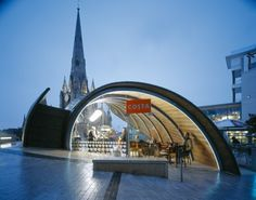 How 'bout we go have coffee at the spiral cafe in Birmingham, England? Hmmm, what say you?