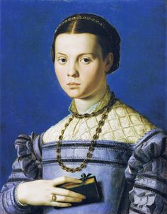 Agnolo Bronzino, Portrait of Giulia, Daughter of Alessandro de' Medici? Costume Renaissance, Renaissance Portraits, Renaissance Fashion, Florence Renaissance, Italian Renaissance, Real Housewives Quotes, Adele, 16th Century Clothing, Turtle Time