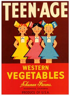 Vintage Crate Label Design