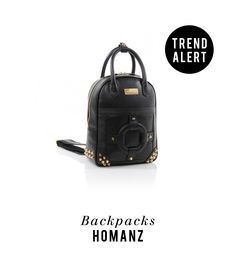 No longer just for school kids, the backpack has become a necessary accessory for adults and we are in love with this trend. Take a look of what HOMANZ has for you: www.etniico.com #Handbags #Bags #Woman #‎Fashion‬ ‪#‎Style‬ ‪#‎Backpacks‬ ‪#‎ETNIICO‬