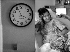 take pictures of the clock with whatever photo you're taking to document the time as you count down to delivery. Birth Pictures, Hospital Pictures, Newborn Pictures, Maternity Pictures, Pregnancy Photos, Baby Photos, Delivery Room Photos, Delivery Pictures, Birth Photography
