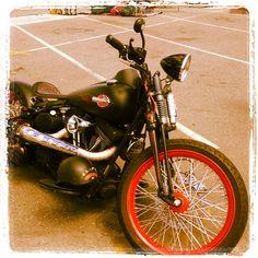 Murdered Harley Bobber
