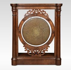 Antique Gongs, Oak Framed Dinner Gong Of Gothic Design. Dinner gong of gothic design the oak frame with fretwork panels and octagonal column pilasters surrounding the original gong. Get Directions, Candlesticks, Gothic, Victorian, Antiques, Metal, Mini, Frame, Design