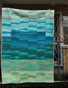 pretty waves quilt