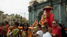 Una salve rociera al dios hindú Ganesh le cuesta el puesto al vicario de Ceuta