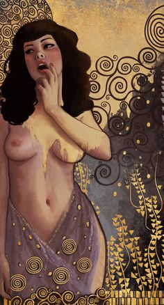 Ode to Klimt by DanielaUhlig