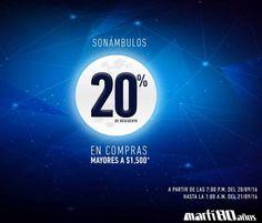 Martí venta nocturna 20 de septiembre 2016