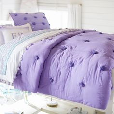 King Bedding Sets For Sale Product King Bedding Sets, Bedding Sets Online, Luxury Bedding Sets, Linen Bedding, Bed Linens, Comforter Sets, Purple Bedrooms, Bedroom Colors, Tumblr Rooms