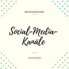 Heute schon Inhalte geteilt? Oder eure eigenen Posts auf den relevanten Social-Media-Kanälen (FB, Google+ & Twitter) beworben? Und anschließend auch gleich die restlichen Social-Media-Babys gef…