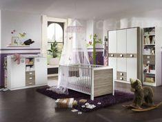 Babyzimmer Jalta Sägerau Eiche 5-teilig