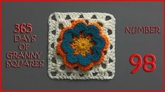 365 Days of Granny Squares Number 98