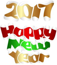 Happy New Year Banner Clip Art