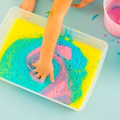 3 Rainbow Kid Activities That Are Totally Worth The Mess | Brit + Co