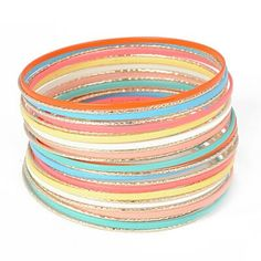 C06942 rainbow bangle....energetic
