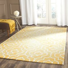 Safavieh Dip Dye Collection DDY538H Handmade Geometric Moroccan Watercolor Gold and Ivory Wool Area Rug (5′ x 8′) Check It Out Now     $171.44    The Safavieh Dip Dye Collection is the perfect blend of class and elegance. These rugs bring traditional sophisticat ..  http://www.handmadeaccessories.top/2017/03/23/safavieh-dip-dye-collection-ddy538h-handmade-geometric-moroccan-watercolor-gold-and-ivory-wool-area-rug-5-x-8/