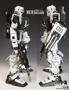 1/60 RX-79[G] Gundam Ground Type [Conversion Kit] - Painted Build     Modeled by Seoyahooya