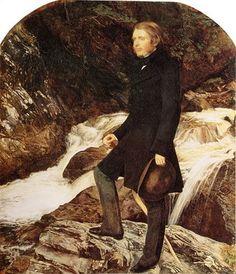 John Ruskin(1853-54)  John Everett Millais