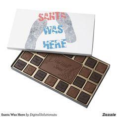 Santa Was Here 45 Piece Assorted Chocolate Box