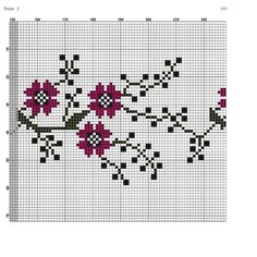 Cross Stitch, Punto De Cruz, Dots, Seed Stitch, Cross Stitches, Crossstitch, Punto Croce