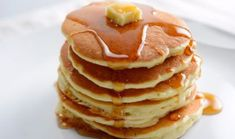 Photo about A breakfast setting of delicious pancakes in the morning. Image of plate, glass, bread - 39883245 Tasty Pancakes, Fluffy Pancakes, Breakfast Set, Breakfast Pancakes, Beignets, Oatmeal, Vegetarian, Bread, Meals