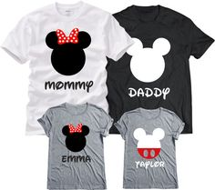 Disney Family Shirts Matching Family Disney by MAKARAPERSONEL