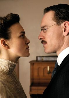 Keira Knightley & Michael Fassbender in A Dangerous Method
