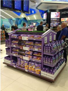 Love this FSDU for Milka! super strong FSDU with excellent high resolution, digital print! Find more amazing POS solutions at www.kentoninstore.co.uk