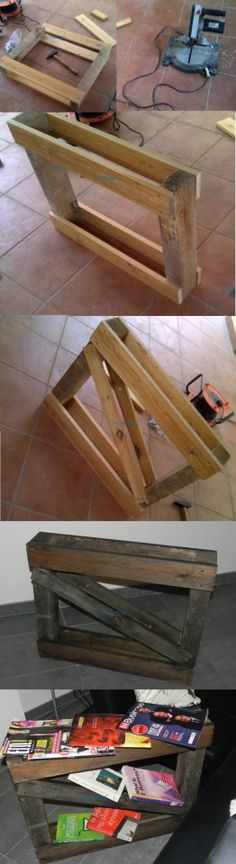 Pallet couch side table by Mastorevo.com.cy