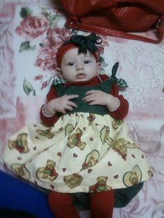 Kk's first Christmas dress