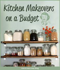 Kitchen Makeovers on a Budget - Rent.com Blog