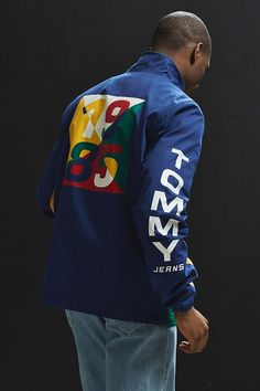 8540f1b09 Slide View: 2: Tommy Hilfiger Retro Block Windbreaker Jacket Anorak Jacket,  Windbreaker Jacket
