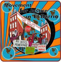 NUEVA YORK: ¡EL BARRIO NO SE VENDE! Movimiento por la Justicia del Barrio