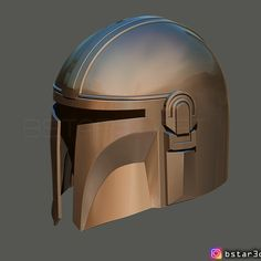 Download 3D printing designs MANDALORIAN HELMET - STAR WARS movie 2019 ・ Cults Mandalorian Cosplay, 3d Prints, Movies 2019, Make A Donation, Armour, My Design, Helmet, Star Wars, Printing