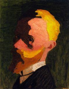 Self-Portrait - Edouard Vuillard, circa 1890