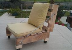50+ DIY Pallet Chairs Ideas That Can Improve Your New Home - Pallets Platform