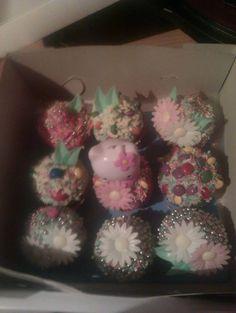 Muffiny s květinami/ Flower´s muffins