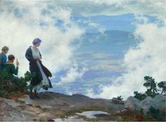 After the Storm ~ Charles Courtney Curran ~ (American: 1861-1942)